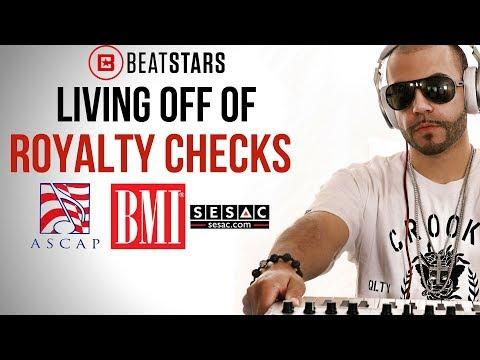 Live off Publishing Checks Writing/Producing Songs