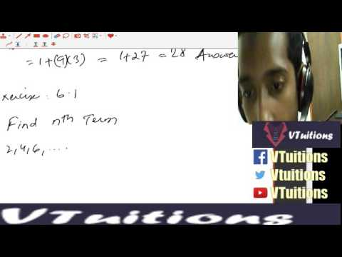 Chapter 6 Sequences and Series Math First Year Class - Sindh Board in Urdu and Hindi