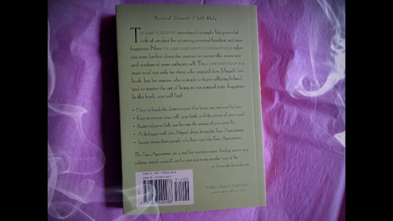 The Four Agreements Complete Gift Set Youtube