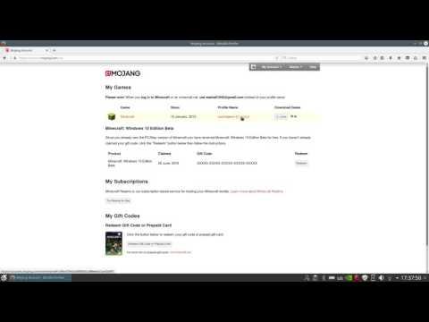 видео: Как сменить ник в minecraft (лицензия) Быстрый способ!