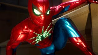 SPIDER-MAN PS4 - DEFENCE SHIELD SUIT IN ACTION (Gameplay) (PS4 PRO)