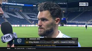 Zusi on Sporting KC's defense: 'Very focused and determined'