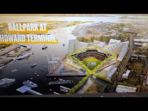 Oakland A's New Ballpark Design Shown At Press Conference