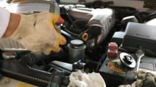 Замена масла и фильтров на тойота марк 2  1JZ  1998 года  Toyota Mark II
