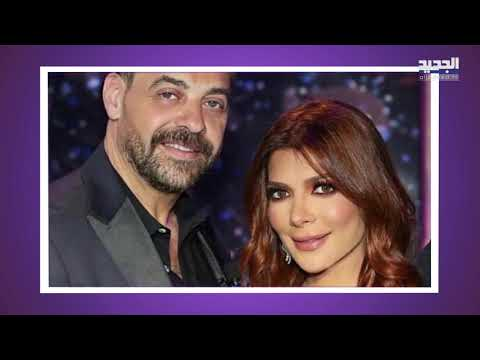 طارق العريان يصطحب نيكول سعفان إلى حفل إطلاق عطر عمرو دياب   علاقتهما أصبحت مؤكدة