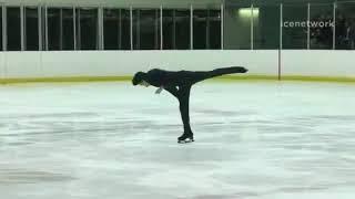 Nathan Chen - 2017 US International Classic -- Short Program/Free Skate Warm-Up/Free Skate