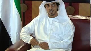 منصور بن زايد يستقبل ..بحضور عبدالله بن زايد ..وزير الداخلية الإيراني