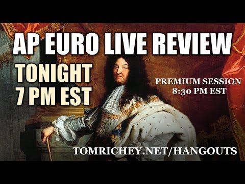 AP Euro Midterm Review Hangout