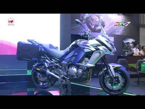 Trong Thế Giới Xe | Cận cảnh Kawasaki Ninja 1000 ABS, Versys 1000 và Ninja ZX-10R