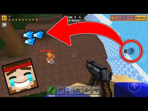 Trolling Players In The Pixel Gun 3D Deadly Games Mode