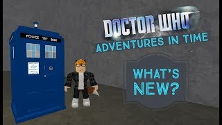 Roblox|Doctor Who Adventures In Time|What's New?