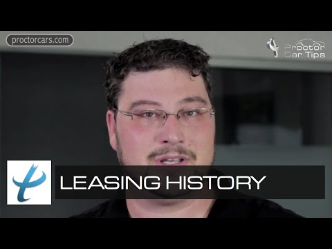 What Does Leasing Mean? - A Short History of Leasing