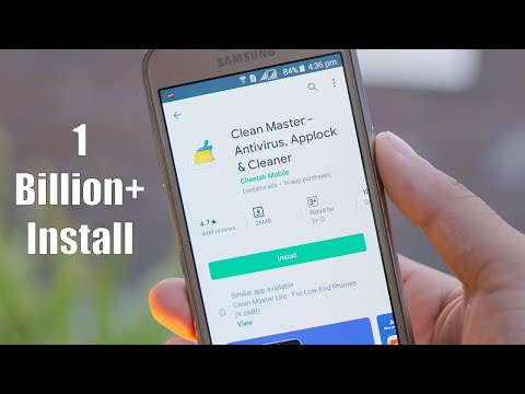 Clean Master, Antivirus, Applock & Cleaner / Optimize Android Performance App /