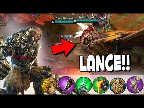 NEW HERO LANCE GAMEPLAY! | Vainglory Roam Lance Match [Update 1.18]