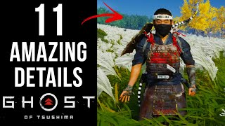 11 AMAZING Details in Ghost of Tsushima
