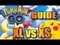 POKEMON GO GUIDE - XS vs. XL - Was ist der Unterschied der Größen ? German Tipps Tricks Tutorial
