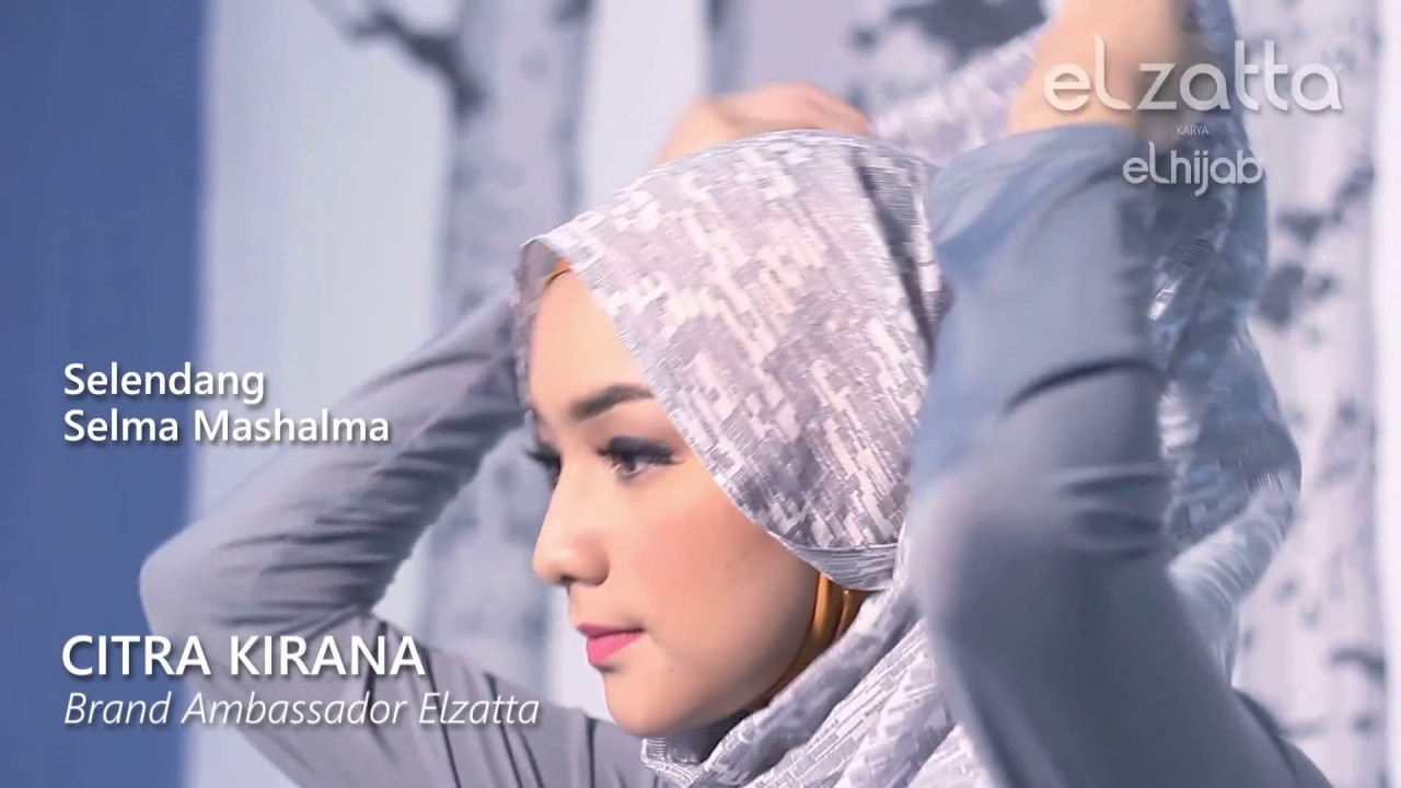 Citra Kirana: [Hijab Tutorial] Simple