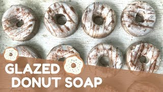 Making Glazed Donut Soap   🍩  GYPSYFAE CREATIONS