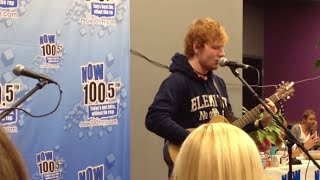"Ed Sheeran Sings ""Baby One More Time"" by Britney Spears"