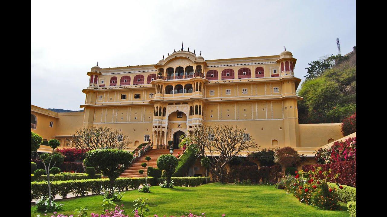 Samode Palace - Jaipur - India HD - YouTube