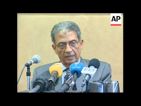 Head of Arab League arrives in Beirut, comments on crisis