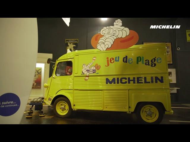Exposition 120 ans de Bibendum - L'Aventure Michelin
