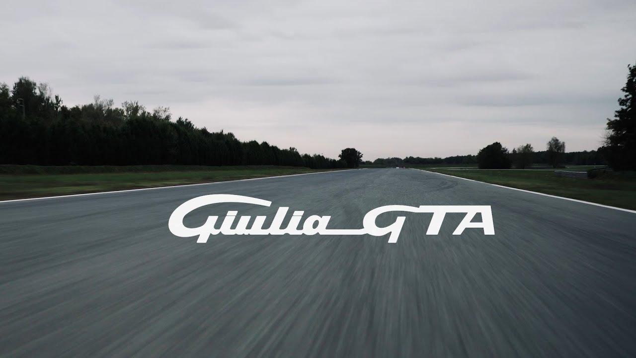 New Alfa Romeo Giulia GTA test driving feat Kimi Räikkönen and Antonio Giovinazzi