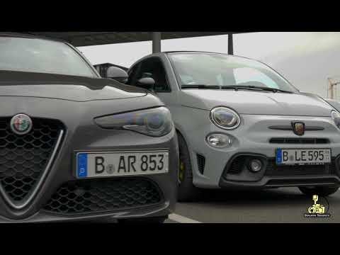 Alfa Romeo Portal/Rolling Shots/Willy Brandt Flughafen [4K]