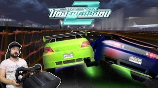 Безумный дрэг-рейсинг! Лансер тащит? | Need for Speed: Underground 2