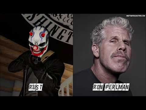 PAYDAY 2 Characters Voice Actors