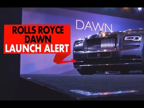 Rolls Royce Dawn : Launch Alert : PowerDrift