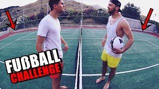 FUßBALL CHALLENGE | Urlaub's Special | Ksfreak vs Krappi