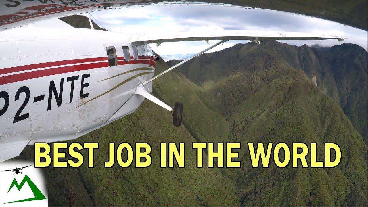 Mountain hopping with the Kodiak Airplane in Papua New Guinea | Bush Pilot Flight Vlog