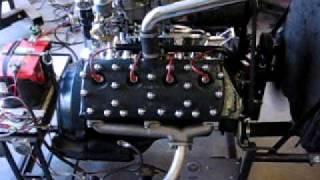 59AB Flathead V8 w/ full race Isky 88 cam, dual 94