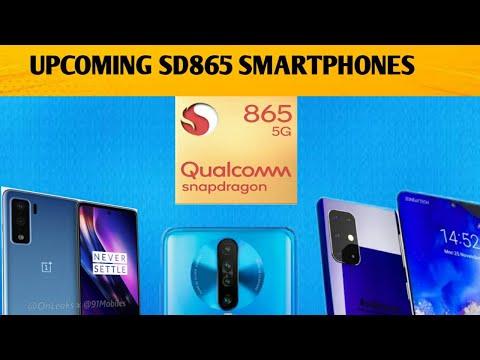 UPCOMING SNAPDRAGON 865 SMARTPHONES 2020|SNAPDRAGON 865 PHONES|SONY XPERIA 3,ONEPLUS 8,XIAOMI MI 10