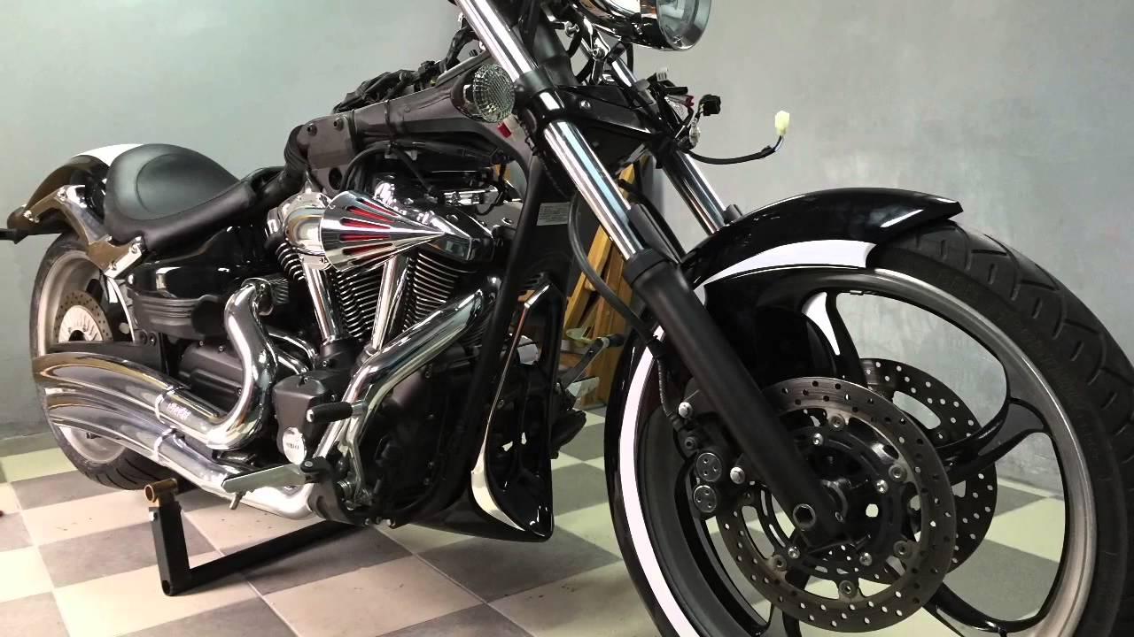 Yamaha Raider Custom Exhaust