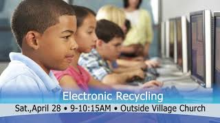 4 24 18 Electronic Recycle