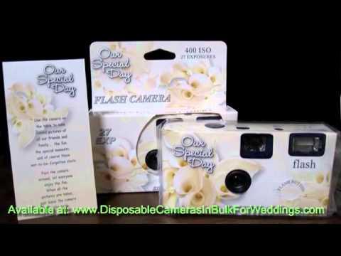 Cheap Disposable Wedding Cameras