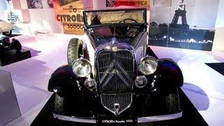 1933 Citroen Rosalie - The Car and The Publicity Exposition - 2012 Paris Auto Show