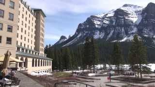 The Fairmont Chateau Lake Louise Hotel, Alberta, Canada