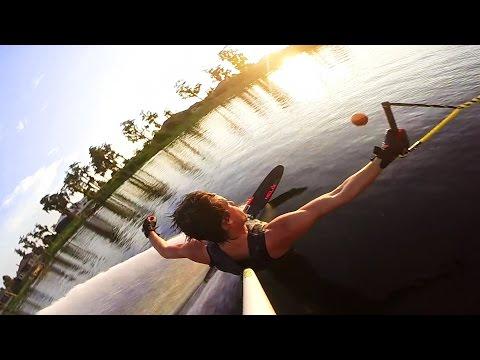 GoPro: Sunset Ski Slalom