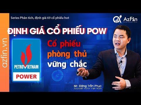 Định giá Cổ phiếu POW (2020) - Doanh nghiệp điện lớn thứ 2 Việt Nam | AzFin