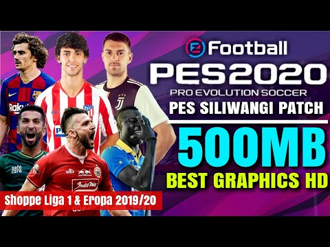 Download Pes 2020 SLI Shopee Liga 1 Indonesia & All Eropa New Kits