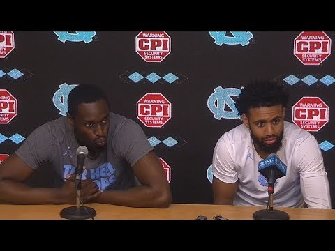 UNC Men's Basketball: Theo Pinson & Joel Berry pre-Senior Night Press Conference