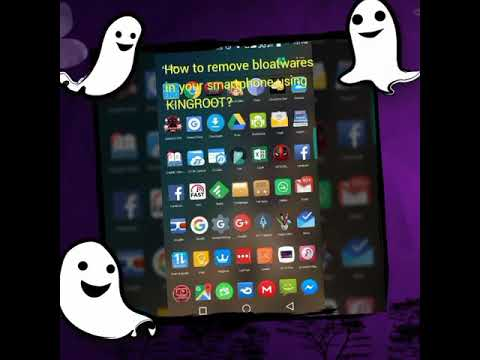 How to remove bloatwares in your android smartphone?