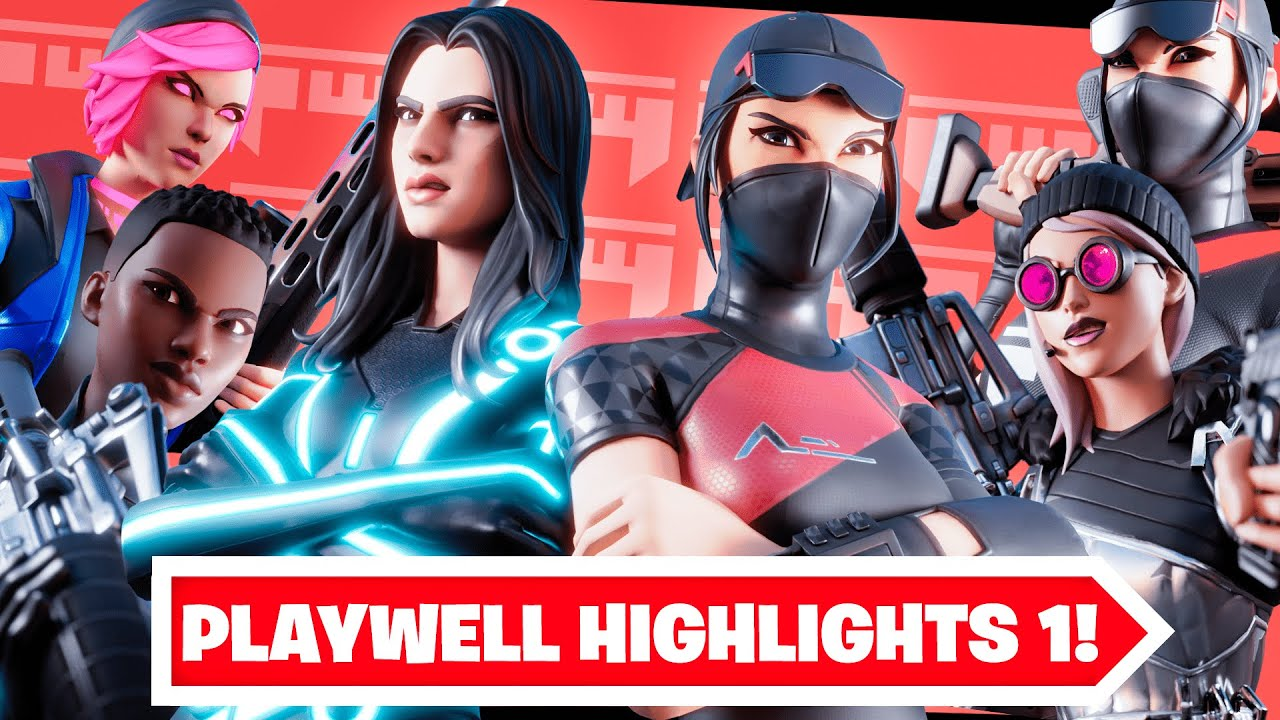 Playwell Team Highlights #1 (Krizzii, Pnkayy, Kenskeyy & Trymsen)