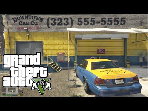 GTA V PC - Trabalhando como taxista #2