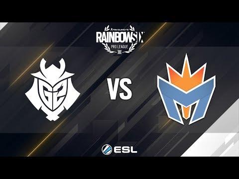 Rainbow Six Pro League - Season 8 - EU - G2 Esports vs. Mockit Esports - Week 12