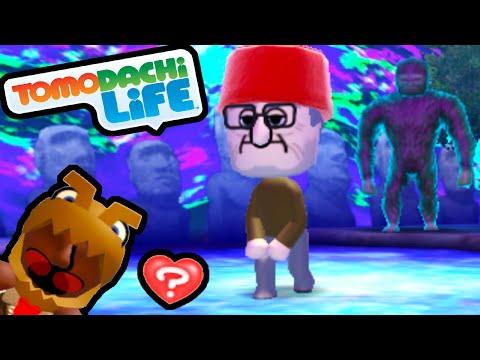 Tomodachi Life 3DS Grunkle Stan's Mystery Shack, T-Rex In Love, Mii Heartbreak Walkthrough PART 55