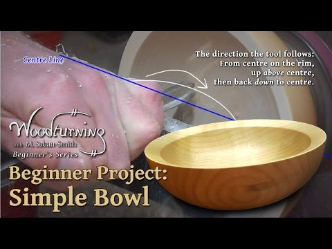 Simple (But Elegant) Bowl: Beginners Woodturning Project